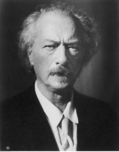 portrait of Ignacy Paderewski