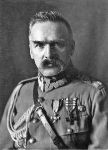 portrait of Józef Piłsudski
