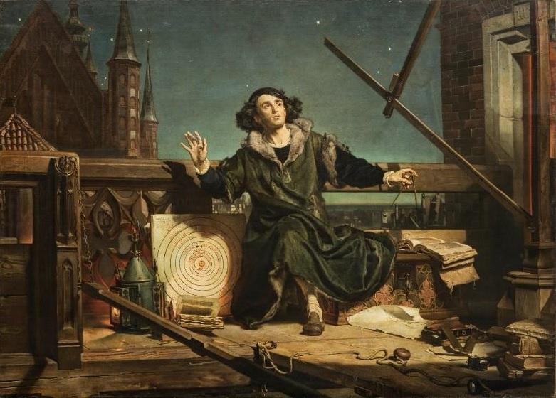 "Jan MAtejko's painting ""The Astronomer Copernicus. Conversations with God"""