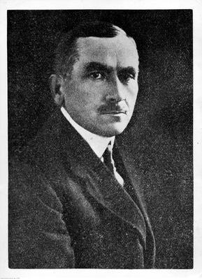 Roman Dmowski, twórca Komitetu Narodowego Polskiego (ze zbiorów NAC, 1-A-493)