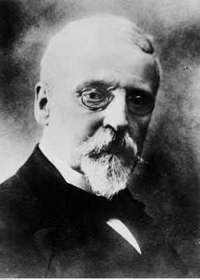 Henryk Sienkiewicz - założyciel Komitetu Generalnego Pomocy Ofiarom Wojny w Polsce (ze zbiorów NAC, 1-K-1795a)
