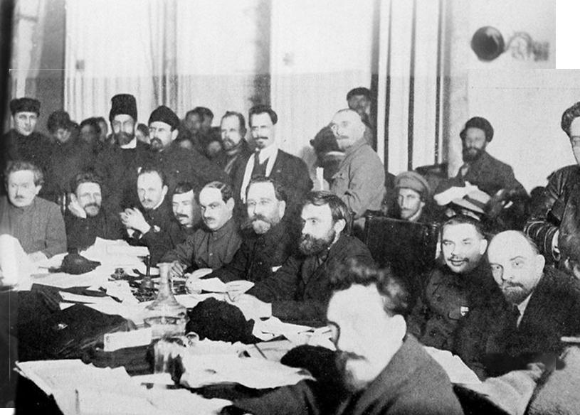 Zebranie partii bolszewickiej (domna publiczna)
