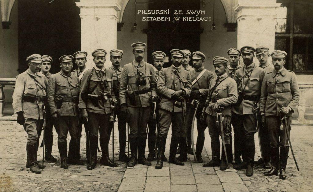 Ćwiczenia Związku Strzeleckiego w Zakopanem 1913 - (ze zbiorów NAC, sygn. 22-100-4)