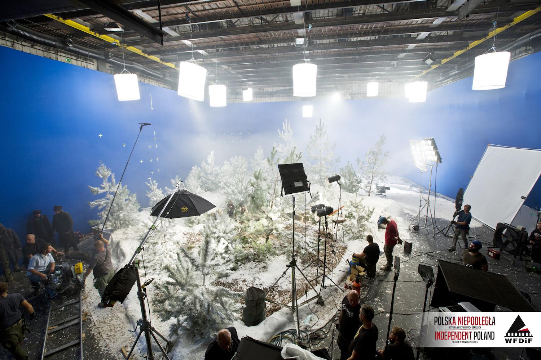 zdjęcie z planu filmowego