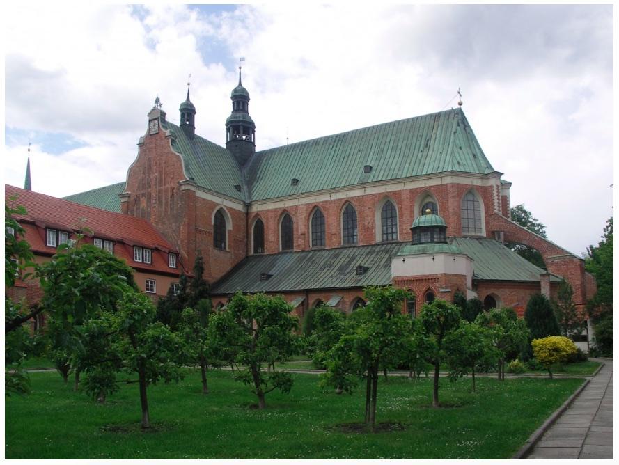 Oliwa, katedra, część wschodnia, fot. NID