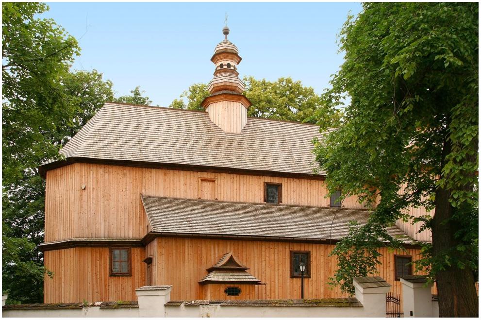 Szalowa – kościół parafialny pw. św. Michała Archanioła, kościół pw. św. Michała Archanioła, fot. Tadeusz Śledzikowski NID 2015