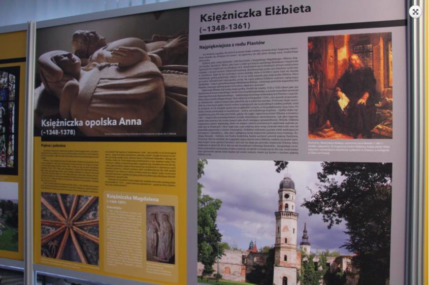 """Fragment wystawy """"Niezwykłe kobiety Śląska Opolskiego"""", źródło: opole.uw.gov.pl"""