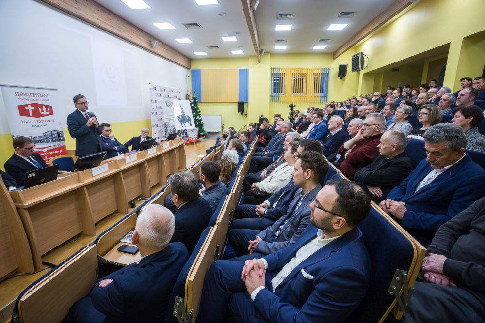 Inauguracja Akademii Niepodległości – Działdowo, 11 grudnia 2017. Fot. Sławomir Kasper (IPN) Zamknij okno, źródło: ipn.gov.pl