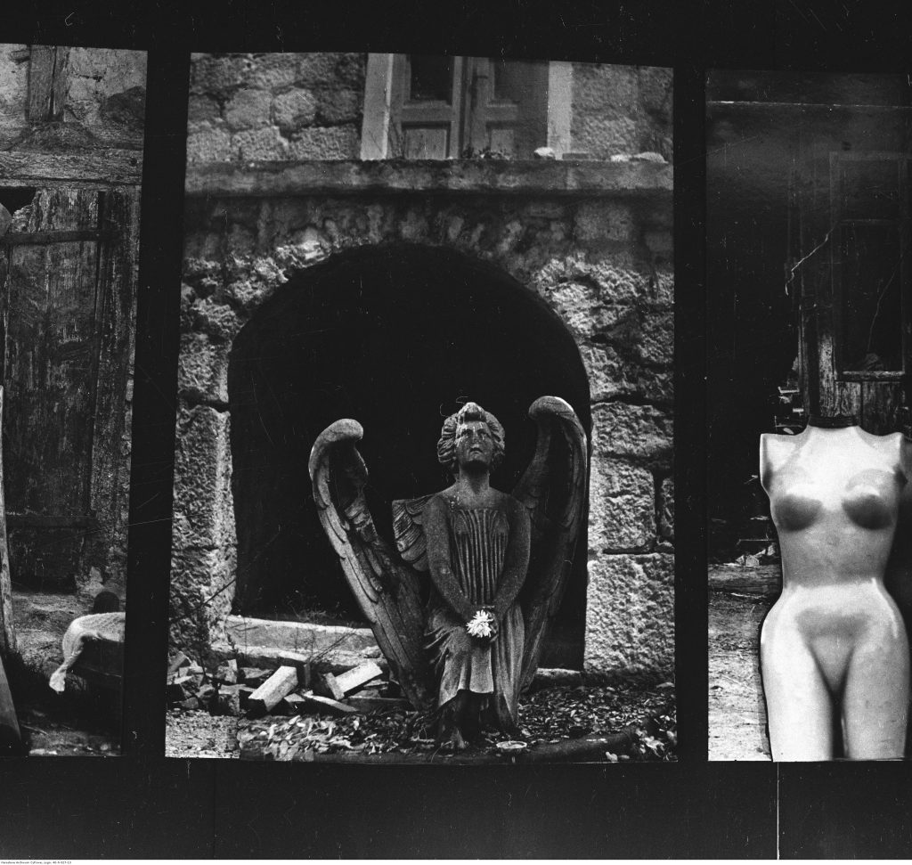 Czarno-biała fotografia autorstwa Zofii Rydet z Gliwic