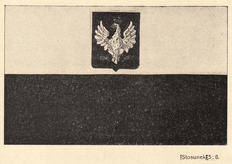 Bandera polska z czasów II RP