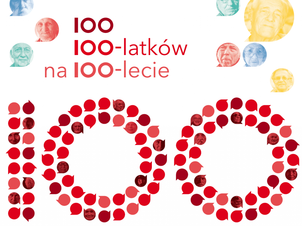 Plakat 100 100-latków na 100-lecie