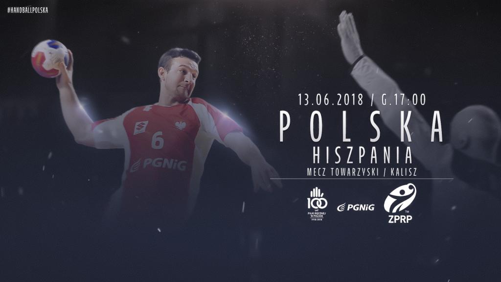 plakat meczu Polska-Hiszpania