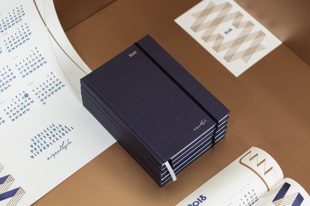kalendarze książkowe oraz ścienne