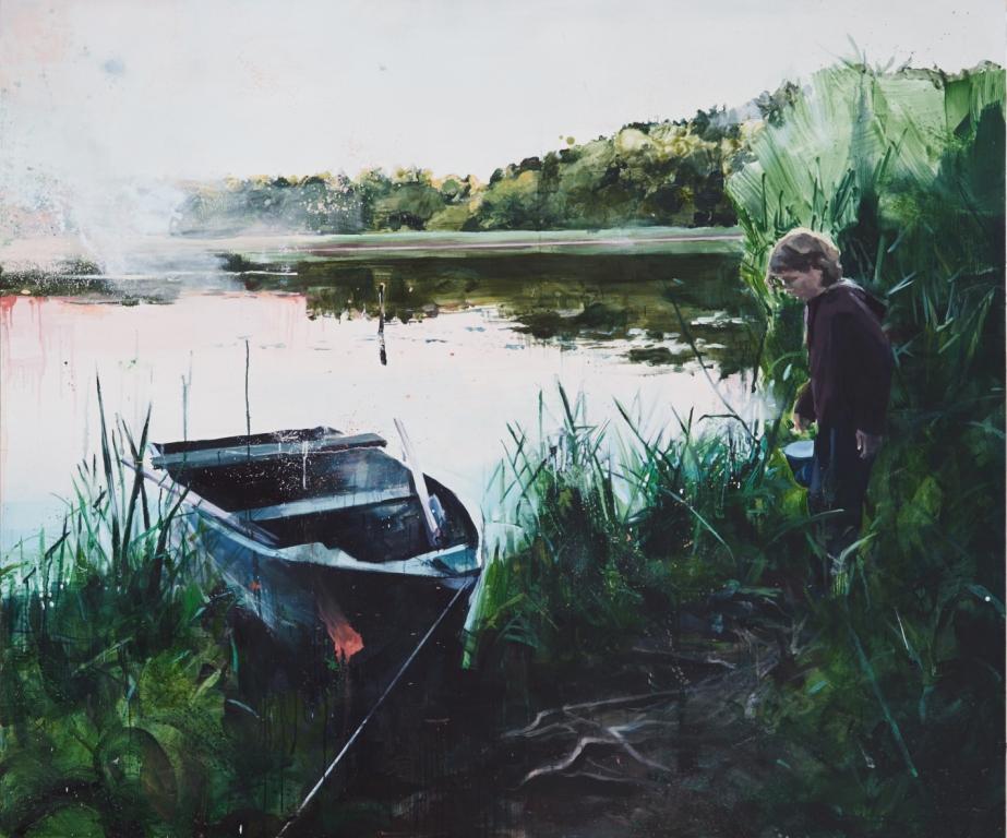 obraz olej na płótnie, Anna Orbaczewska, Zagłada Dworu, 2018