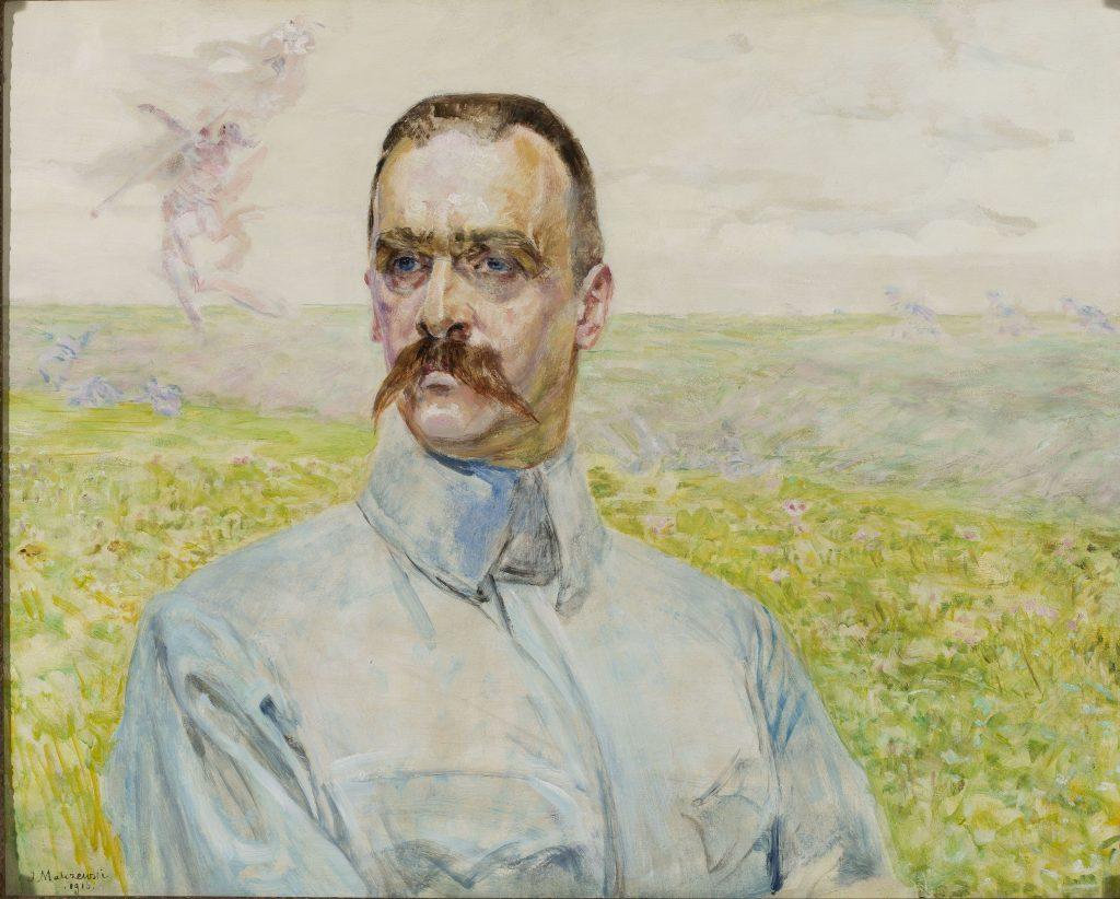 obraz Jacka Malczewskiego przedstawiający Józefa Piłsudskiego