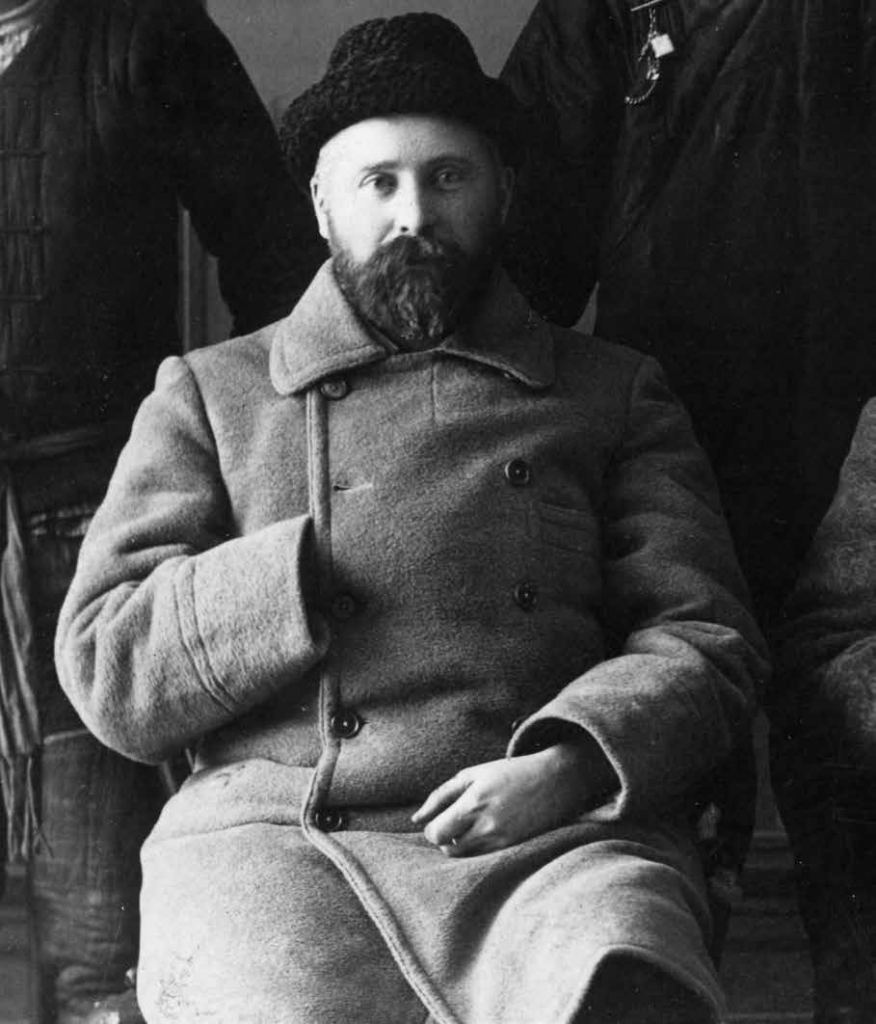 czarno-białe zdjęcie portretowe mężczyzny