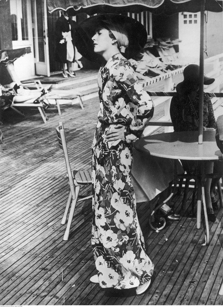 Piżama plażowa, 1930 (źródło: NAC).