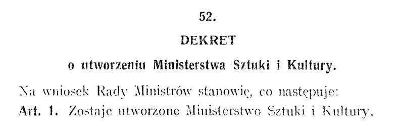fragment dekretu