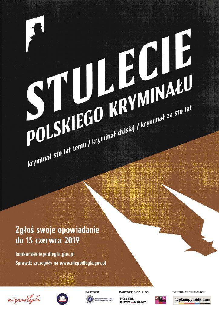 Stulecie polskiego Kryminału - plakat
