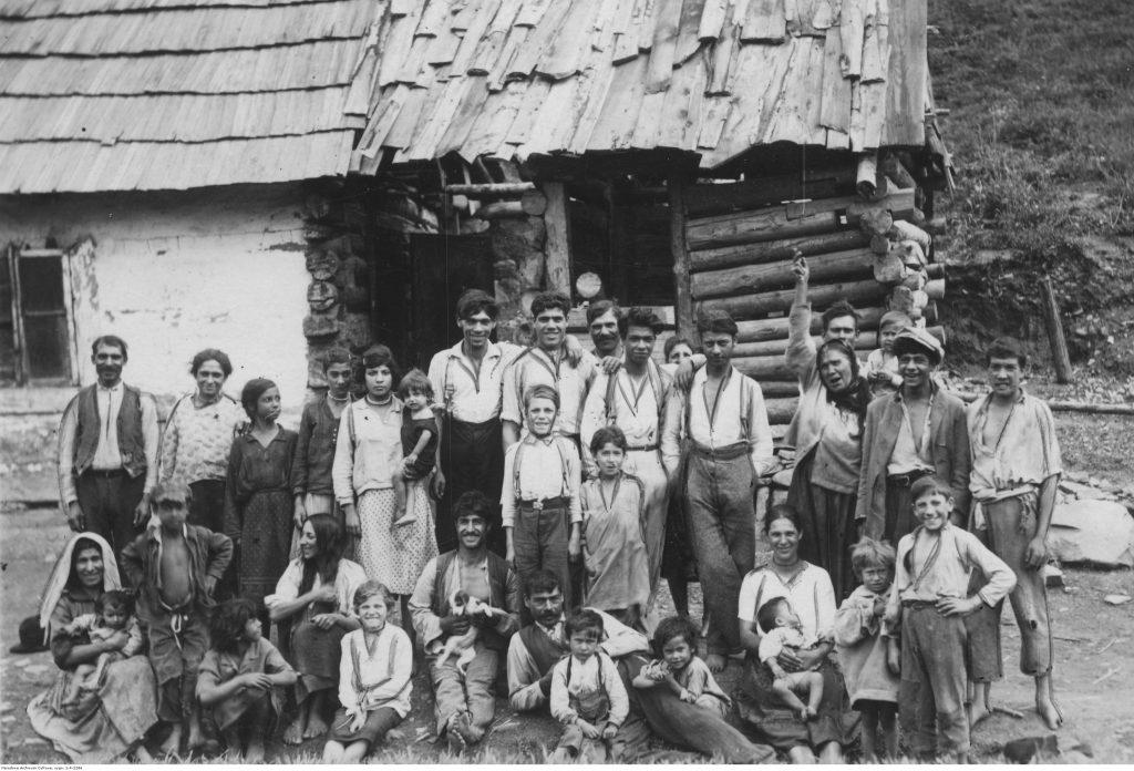 Mieszkańcy wsi Łosie (1935), fot. Narodowe Archiwum Cyfrowe
