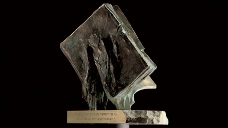 statuetka, nagroda, wydarzenie historyczne roku