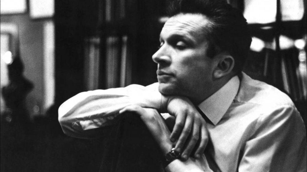 Mieczysław Wajnberg, portret czarno-biały