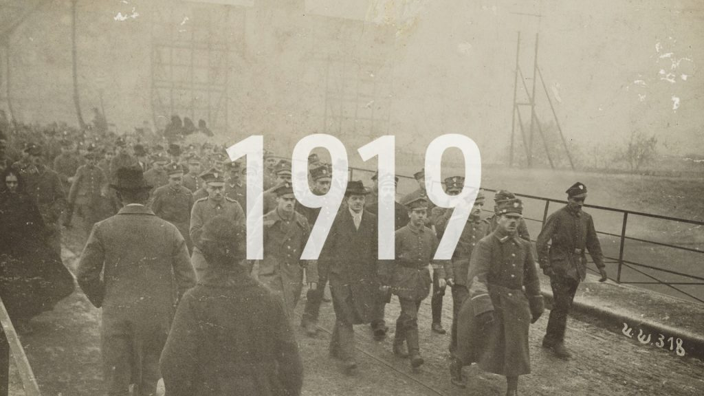 kadr ze spotu o rocznicy Powstań Śląskich