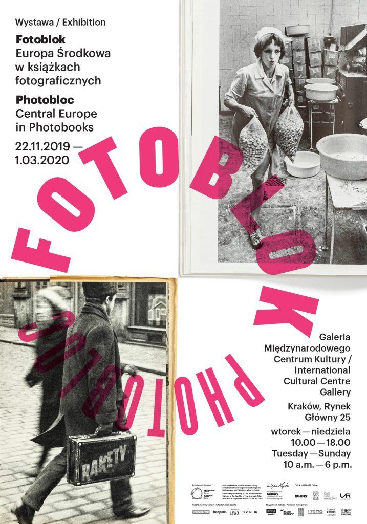 plakat wystawy Fotoblok. Europa Środkowa w książkach fotograficznych