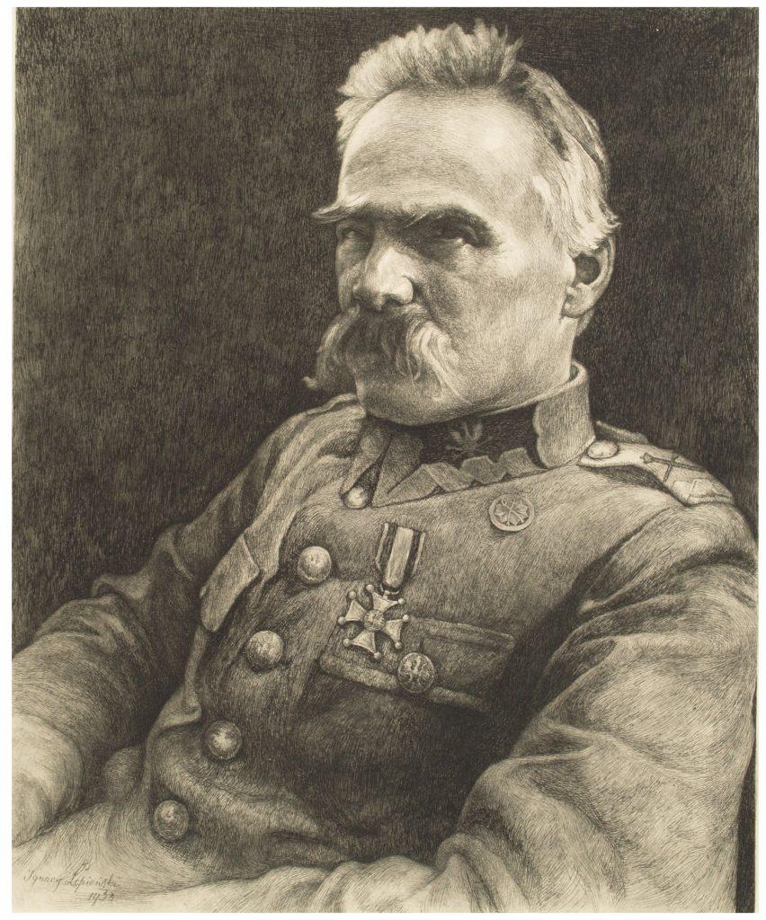 portret piłsudskiego