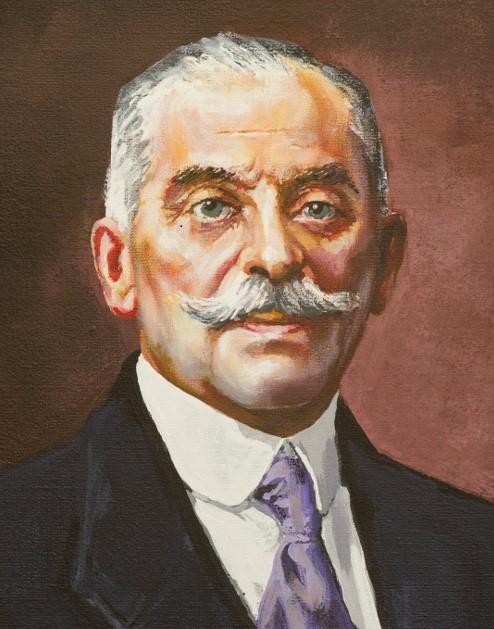 portret en face Stanisława Lubomirskiego