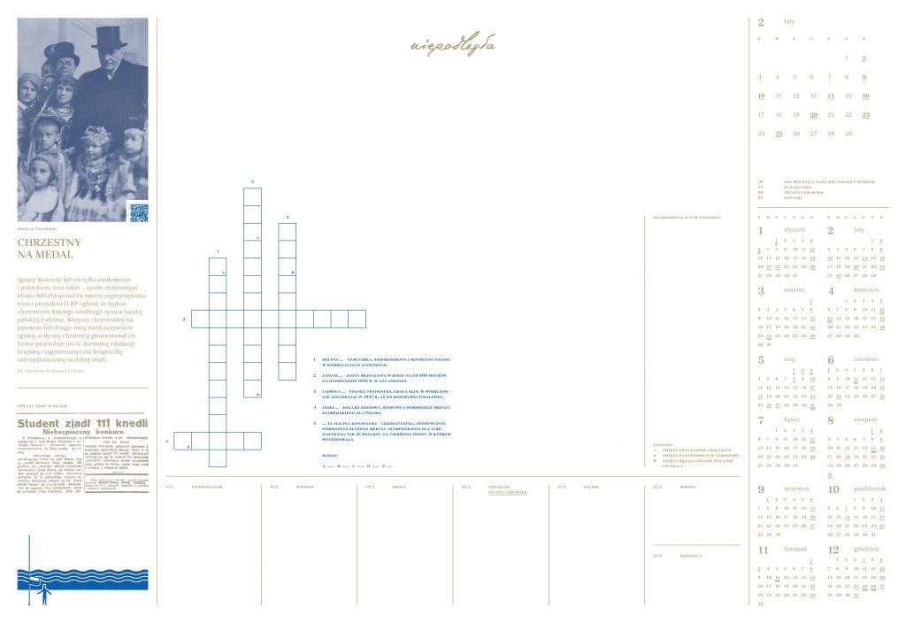 kartka z planera na tydzień 17-23.02.2020