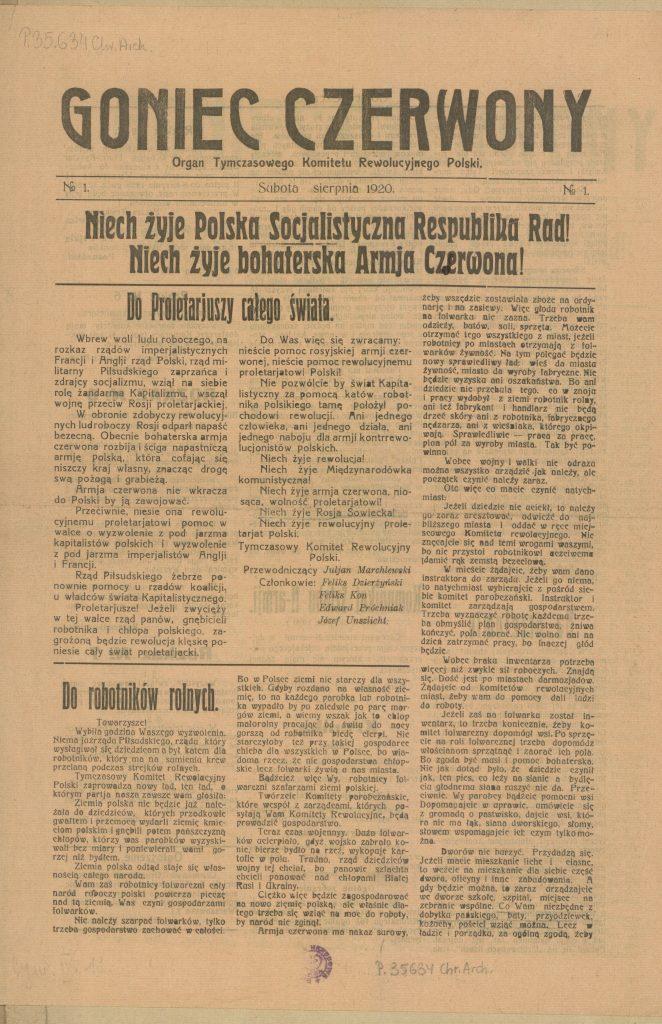 strona tytułowa czasopisma
