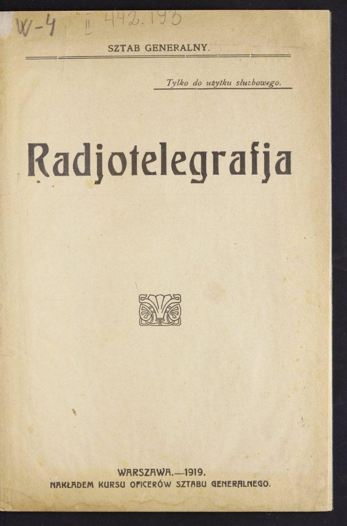 okładka książki z tytułem
