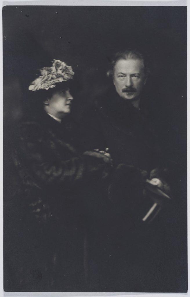 zdjęcie portretowe małżeństwa paderewskich