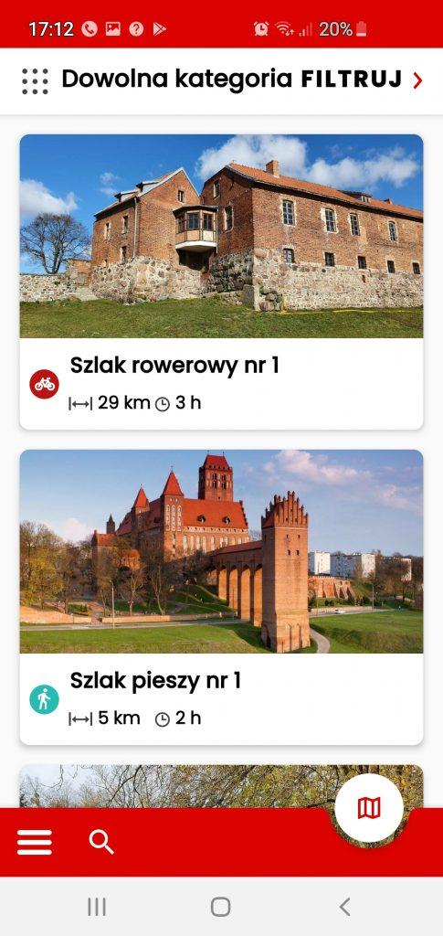 zrzut ekranu z aplikacji