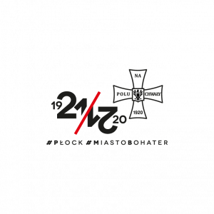 logo z krzyżem walecznych i napisem 1921/2021