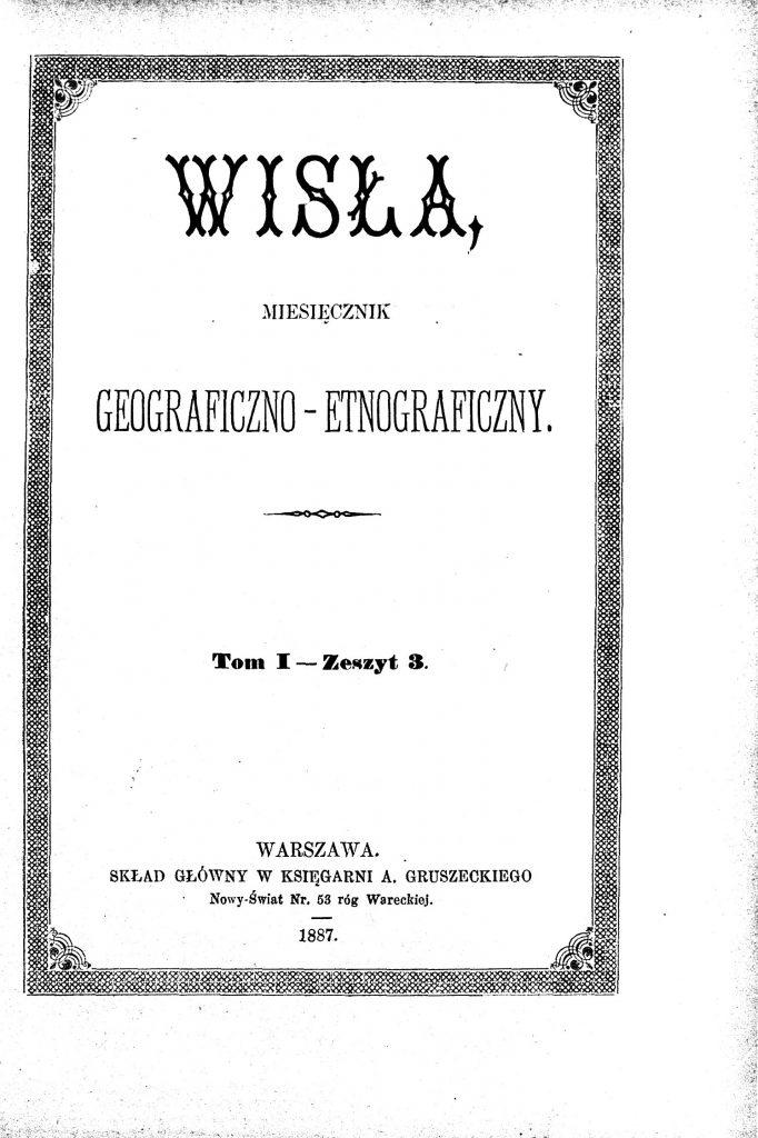 okładka czasopisma z tytułem i ozdobną ramką