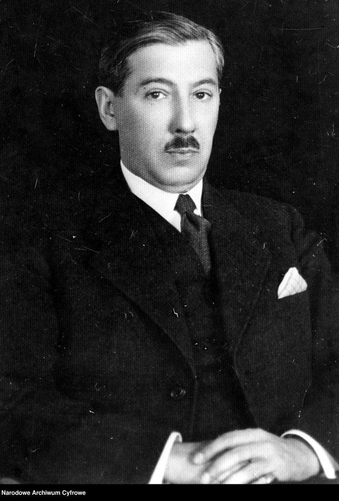 portret mężczyzny w garniturze