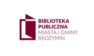 logotyp Biblioteki Publicznej Miasta i Gminy Radzymin