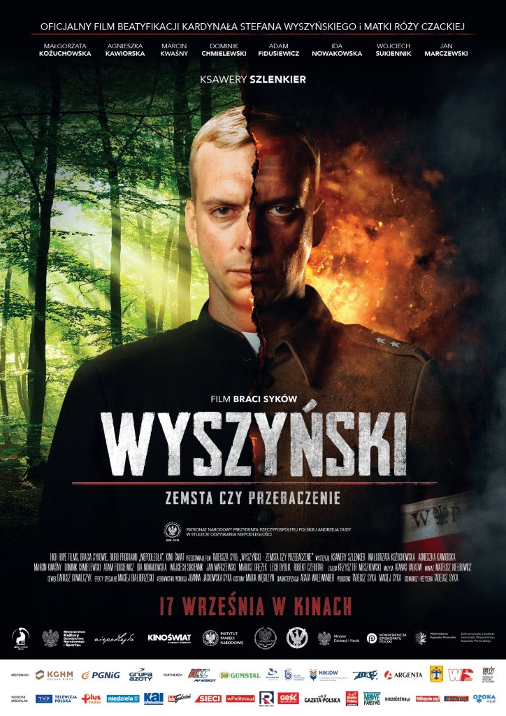 plakat filmu o wyszyńskim