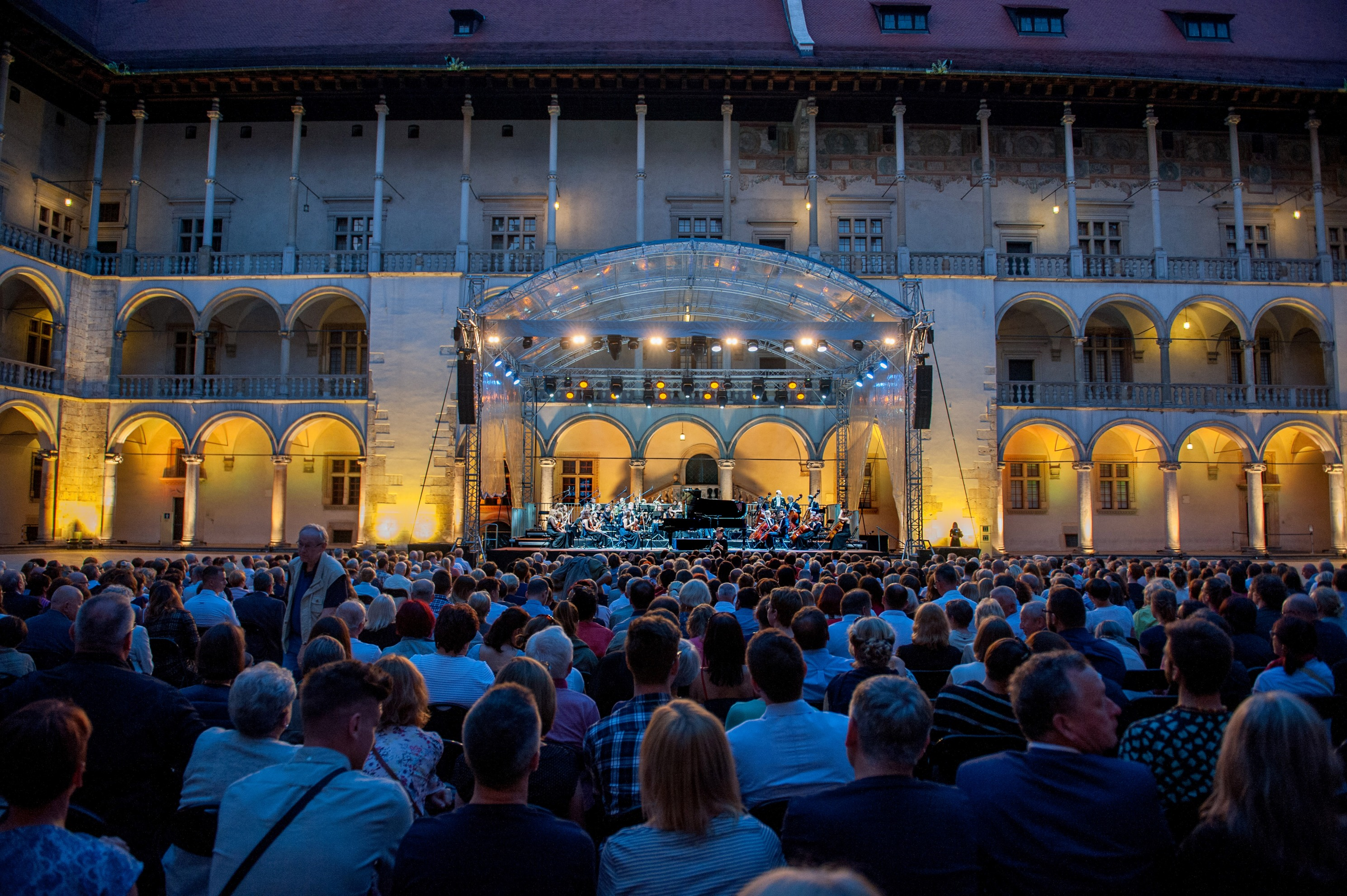 Wieczorny Wawel