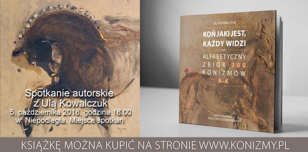 praca plastyczna przedstawiająca konia i okładka książki