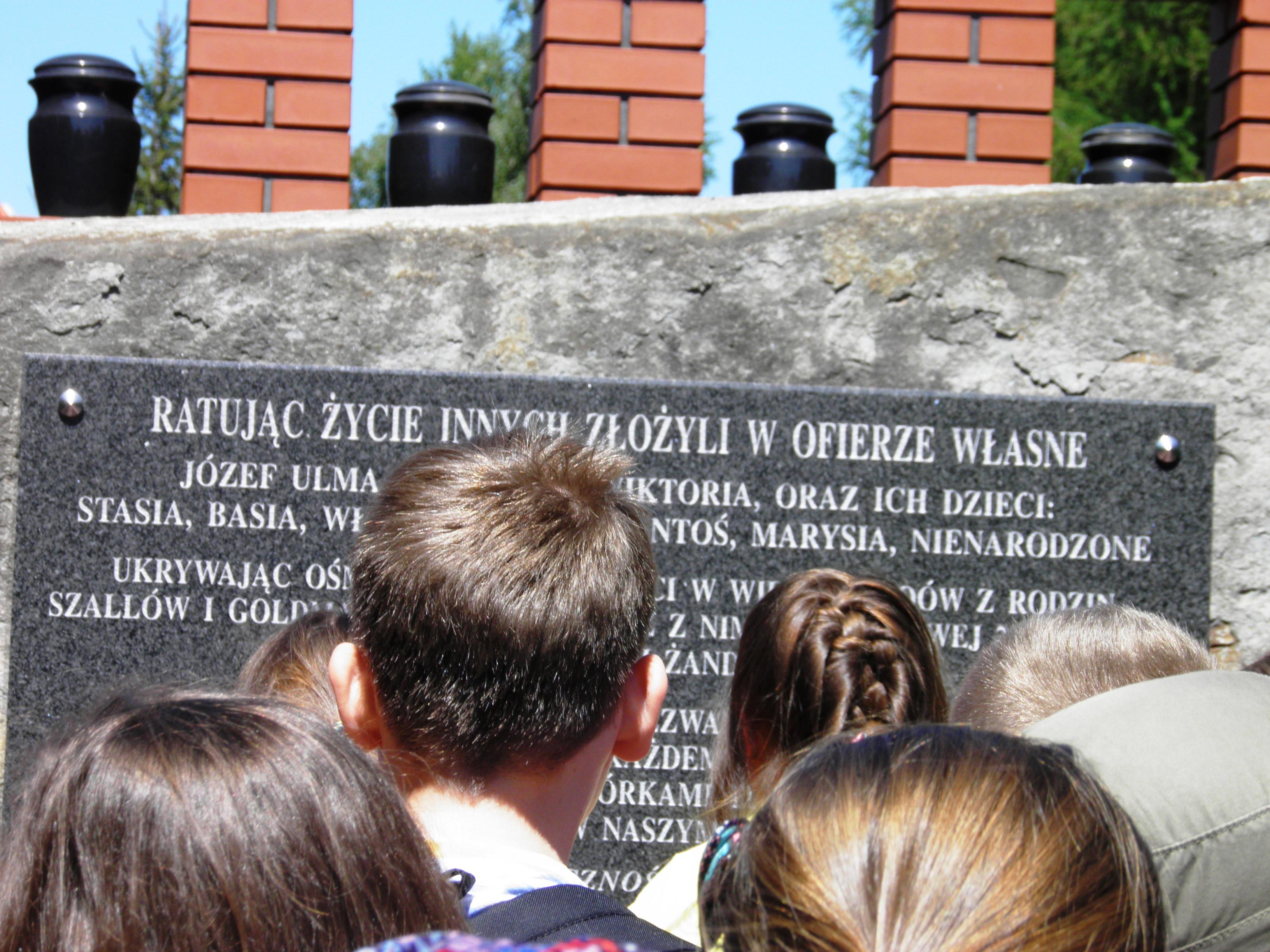Pomnik Rodziny Ulmów
