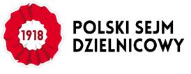 Logo Polskiego Sejmu Dzielnicowego 2018