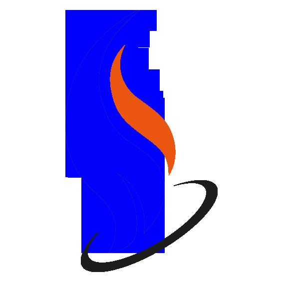 logo zjazdu złożone z płomienia i orkęgu