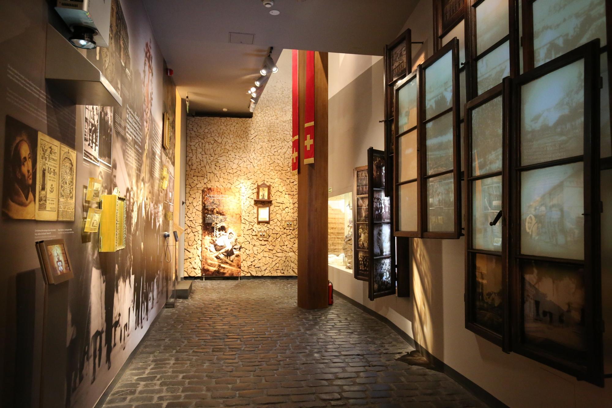 zdjęcie wnętrza muzeum