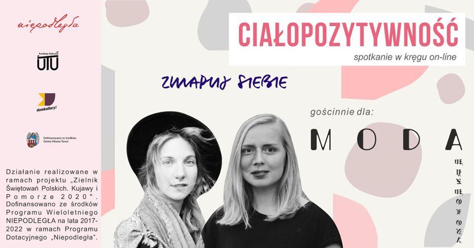 baner internetowy przedstawiający 2 dziewczyny, w tym jedną w kapeluszu