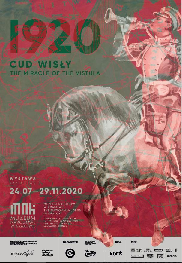 Plakat wystawy 1920. Cud Wisły
