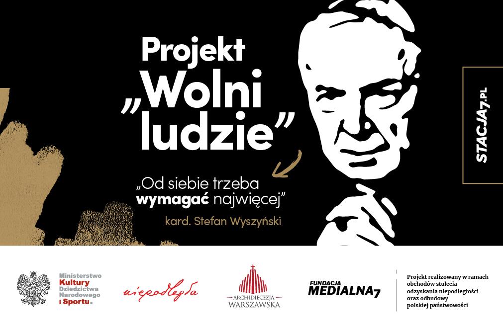 """Zaproszenie na prezentację książki """"Ojciec wolnych ludzi"""" Pawła Zuchniewicza"""